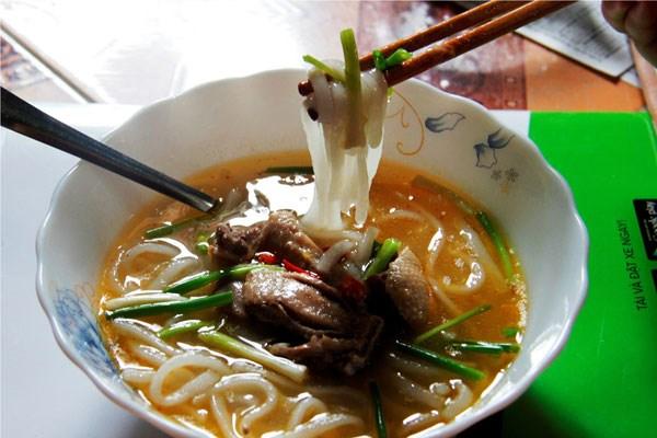 Cháo bột vịt Quảng Trị