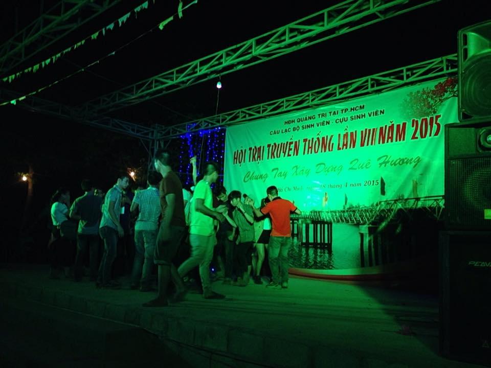 Hội trại truyền thống sinh viên Quảng Trị