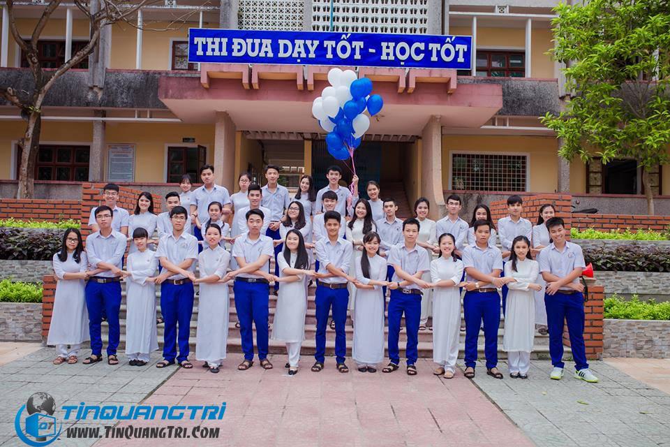 Bộ ảnh kỷ yếu đẹp mắt của học sinh trường THPT Đông Hà