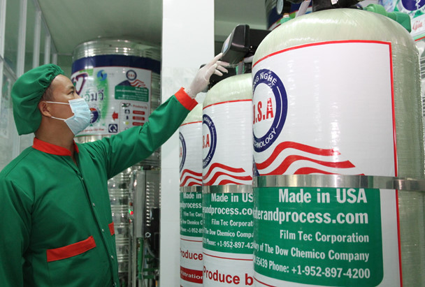 Nhà máy nước lọc tinh khiết lớn nhất Quảng Trị đi vào hoạt động