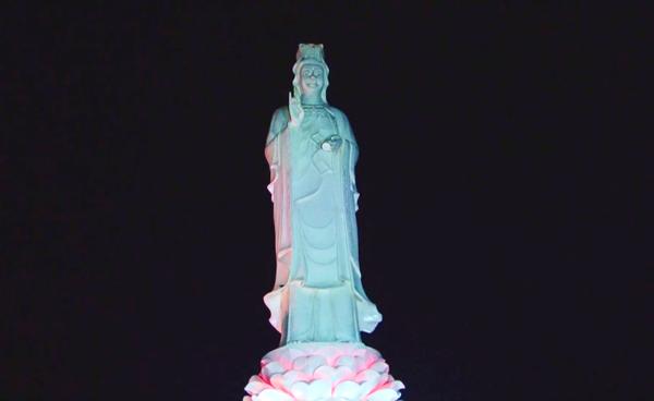 Ngắm tượng đài Quan Thế Âm cao 25m